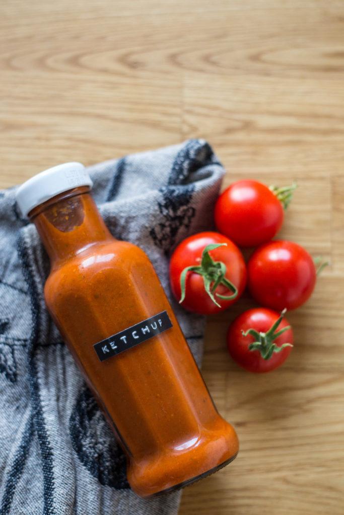 Koka egen ketchup - Dnilva