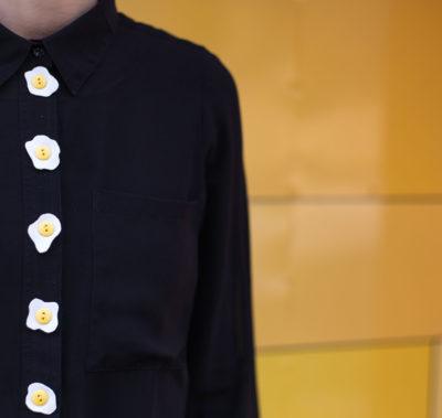 DIY Easter egg shirt | by Dnilva