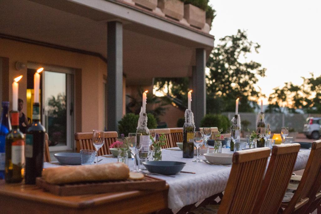 Dinner at Villa Mami Collepaganello Fabriano