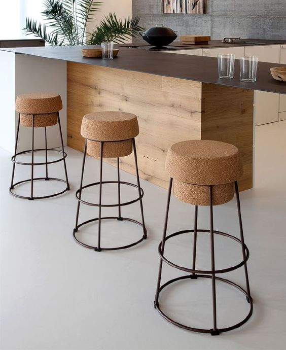 Cork Stool by Domitalia