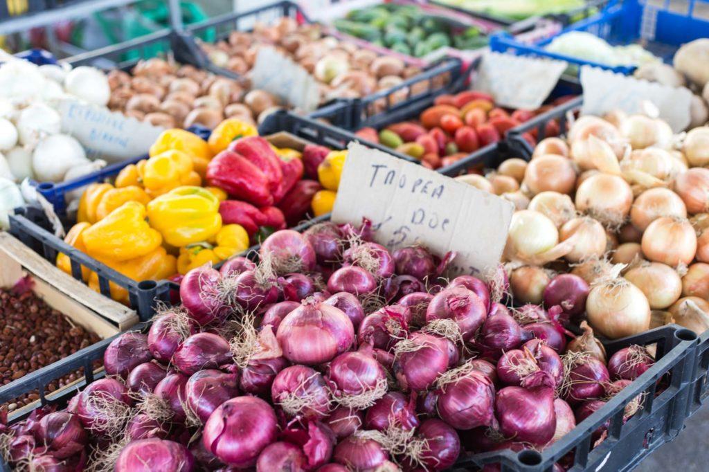 Vegetable market Agropoli