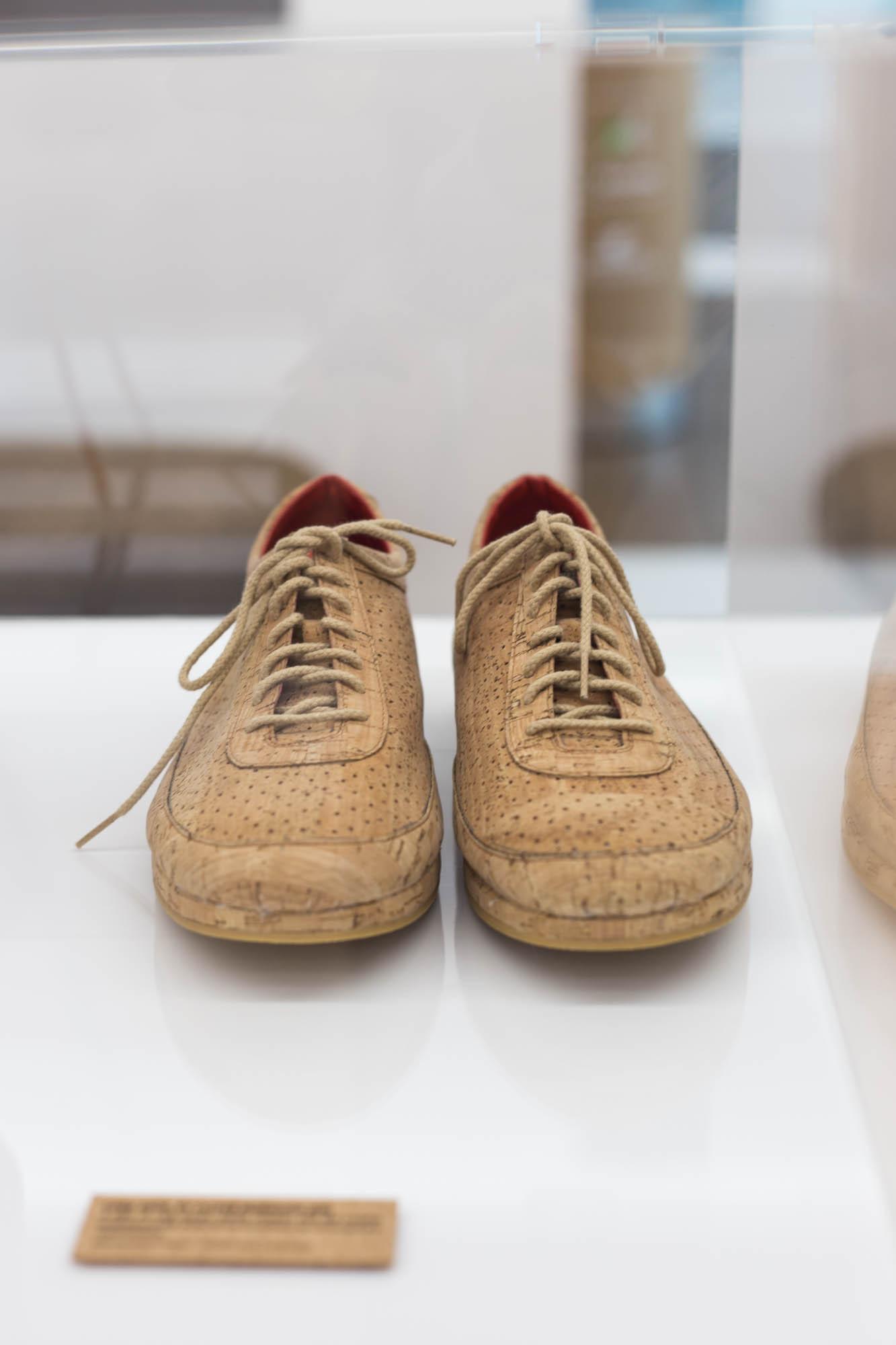 Cork shoe by Jasper Morrison