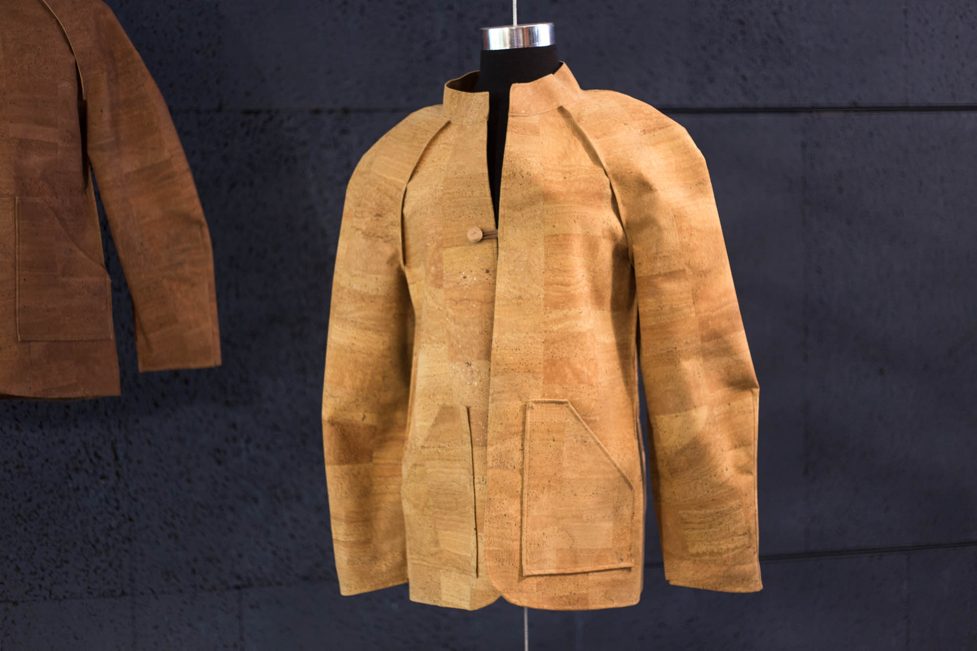 Todd Bracher's Amorim cork jacket