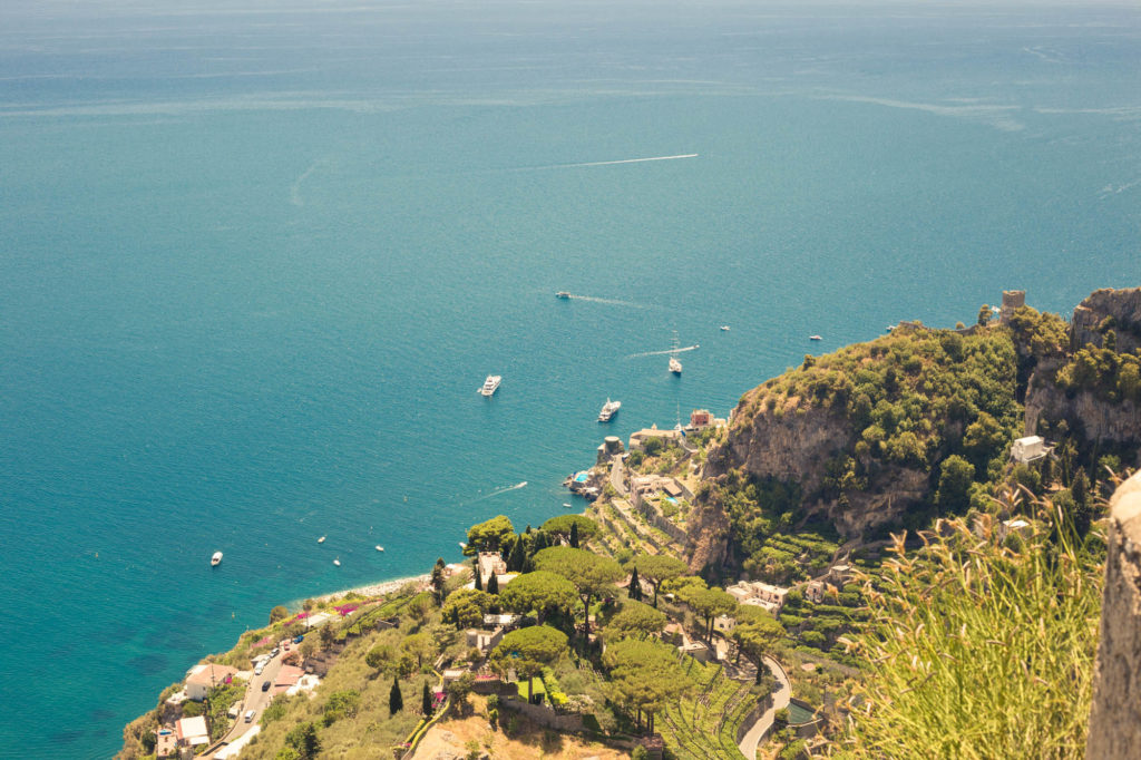 Roadtripping the Amalfi coast – Ravello Villa Cimbrone Gardens