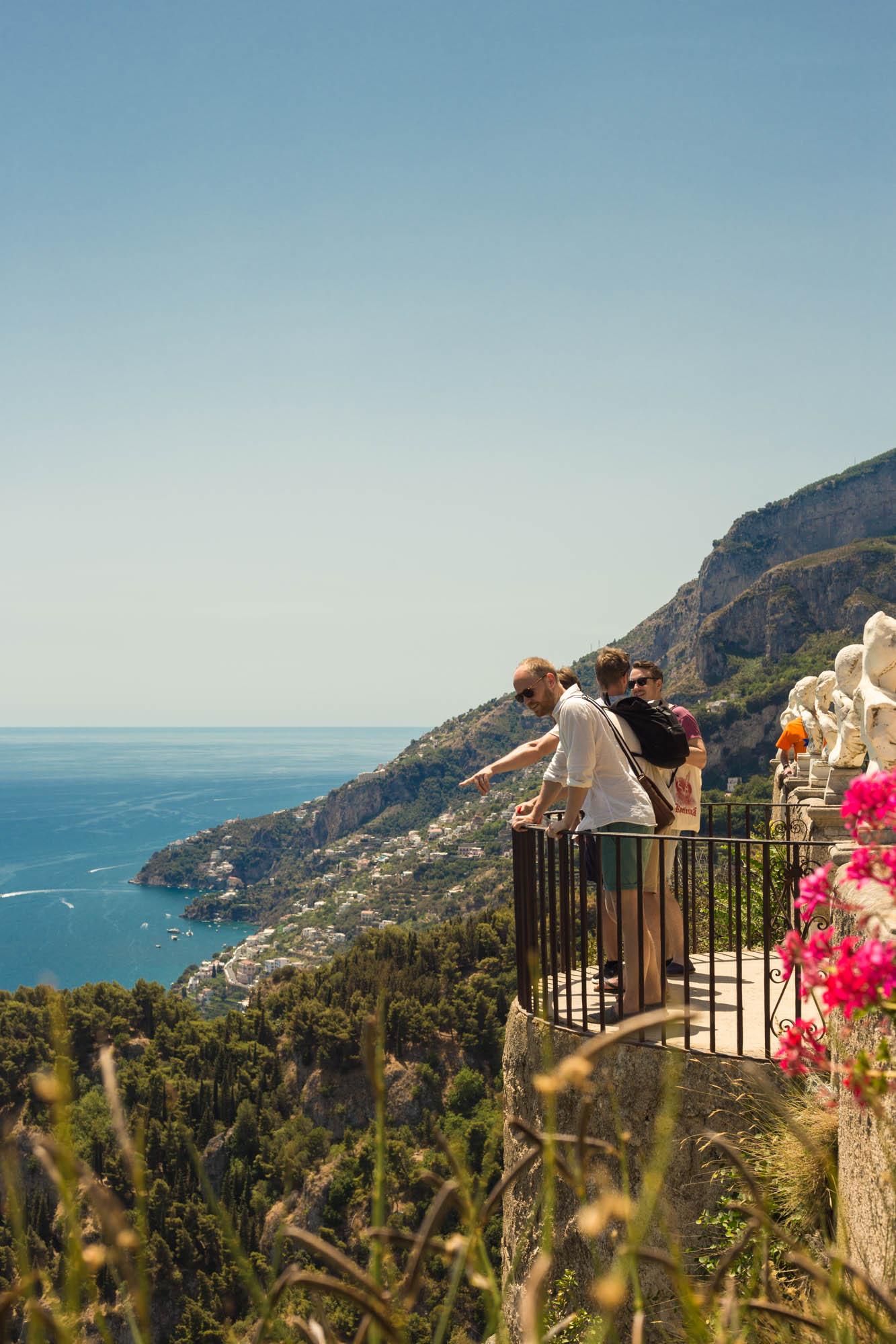 Roadtripping the Amalfi coast – Ravello Villa Cimbrone Gardens