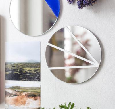 Väggspegel på 3 sätt – Spegel med kontaktplast