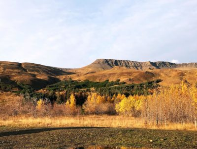 Mount Esja in Iceland