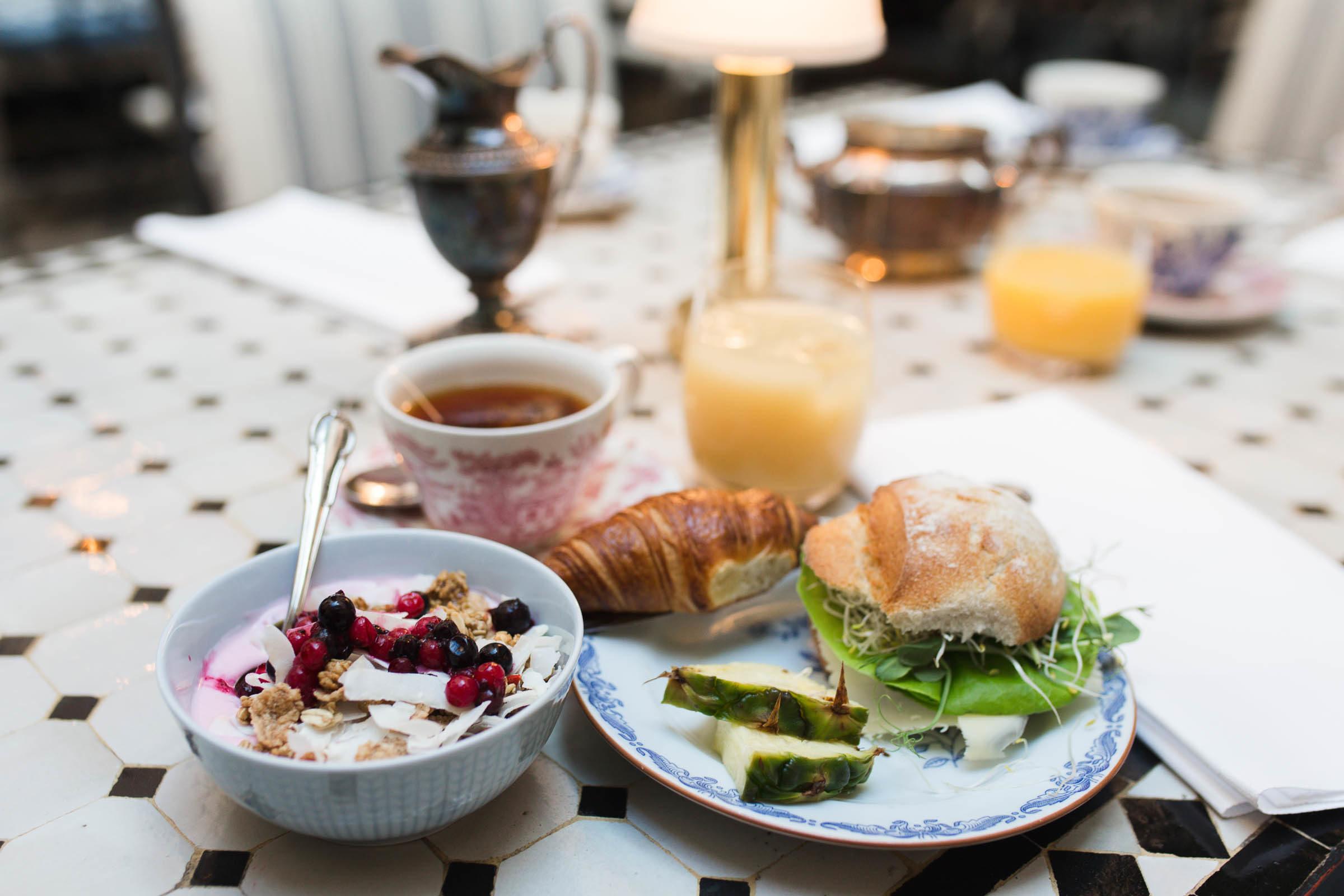 Frukost på MJs i Malmö