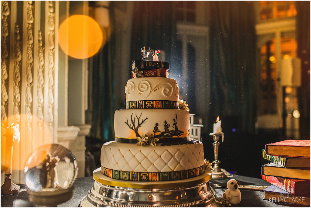 Harry Potter Themed Wedding Kelly Clarke Photography