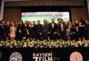 7. Kayseri Altın Çınar Ödülleri Sahiplerini Buldu