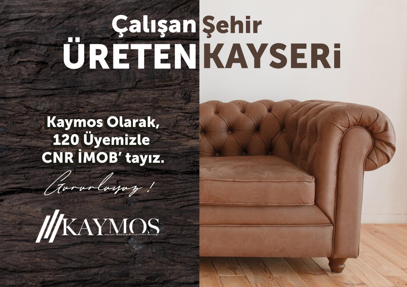 İMOB'da Kayseri'den 120 Firma…