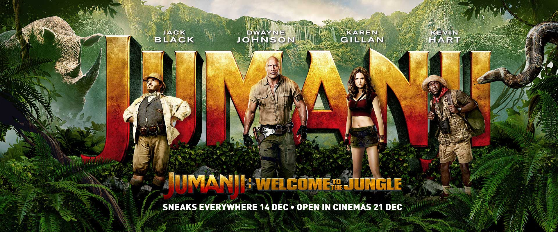 Image result for jumanji poster 2017