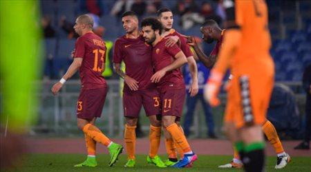 روما يختبر جماهيره.. كم مرة نال صلاح لقب رجل المباراة ؟