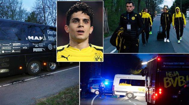 المانيا - اعتقال رجل تورط في تفجير حافلة فريق بروسيا دورتموند