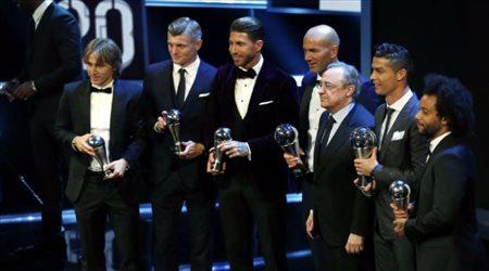 بيريز: ندين لرونالدو وزيدان ما وصل إليه ريال مدريد