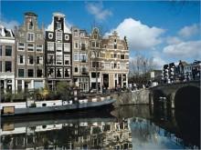 Amsterdamse grachten en het Rijksmuseum