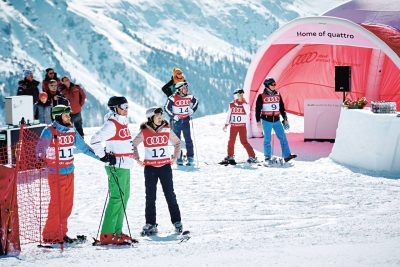 Am Ende jedes Qualifikationsrennens werden die Besten gekürt. Sie sind eingeladen zum großen Finale in St.Moritz.