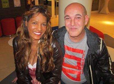 Nadja abd el Farrag and DJ T.Cane