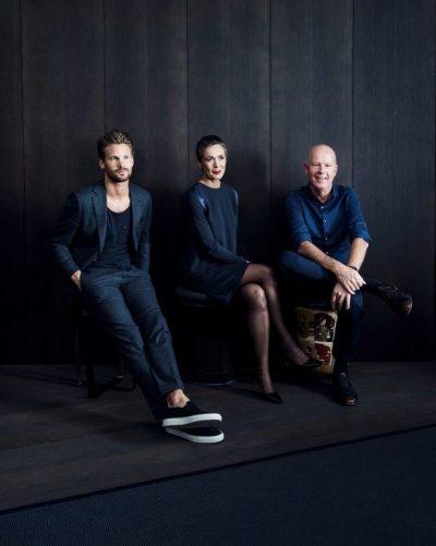 v.l.r. Philipp Hoflehner, Ruth Gruber, Bernd Gruber