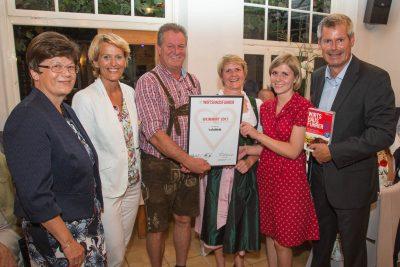 Heinz, Gitti und Stephanie Birk: Weinwirt 2017