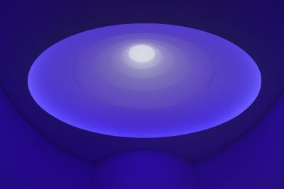Installation Guggenheim Museum James Turrell, »From the Guggenheim, Aten Reign«, 2013 Inkjet-Print-Unikat | ca. 14 x 22 cm Foto David Heald © James Turrell Courtesy Häusler Contemporary München | Zürich