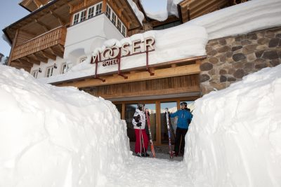 The MOOSER Hotel at St. Anton/Arlberg