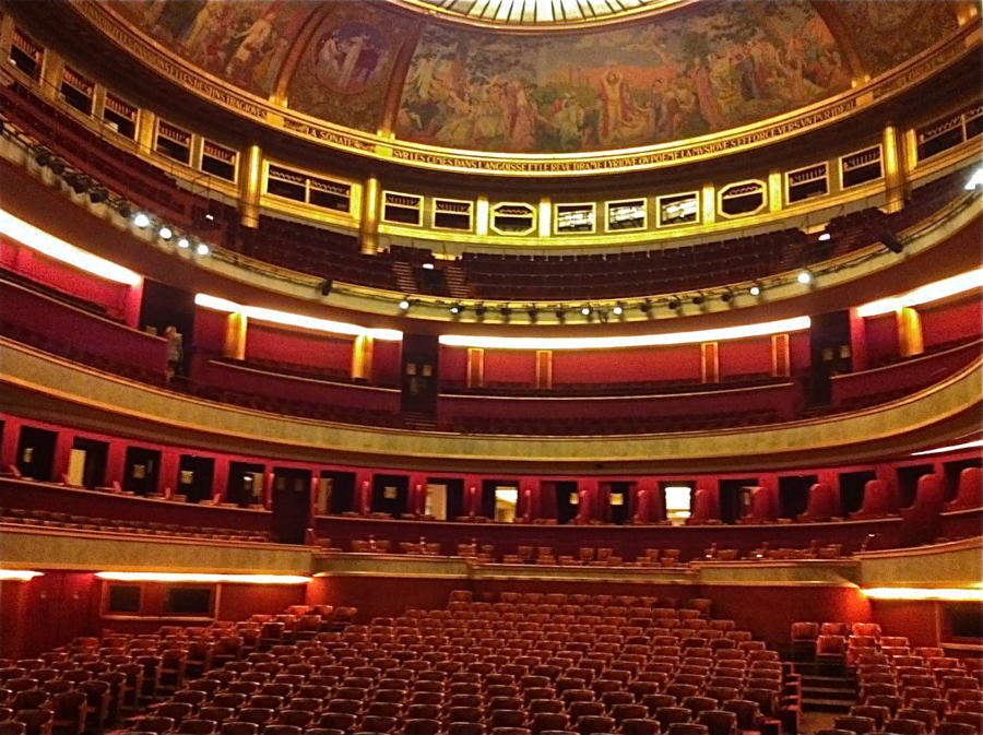 Theatre Champs Elysee Interieur