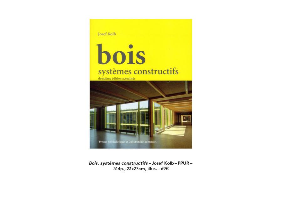 Slide Bois Systemes Constructifs
