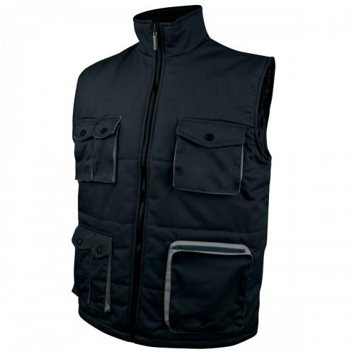 delta plus stockton veste de travail sans manches homme ebay. Black Bedroom Furniture Sets. Home Design Ideas