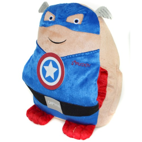 Details about Spuddy Novelty Plush Superhero Couch Potato Pillow ...