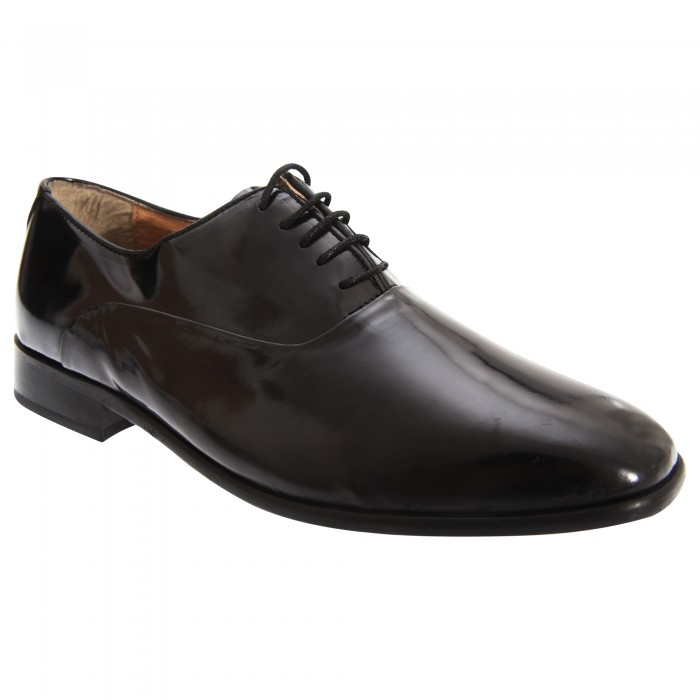 montecatini mens lace up patent leather oxford dress