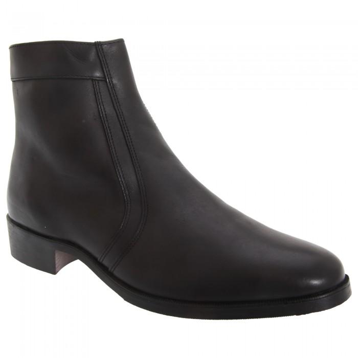 scimitar herren boots stiefelette stiefel mit niedrigem absatz ebay. Black Bedroom Furniture Sets. Home Design Ideas