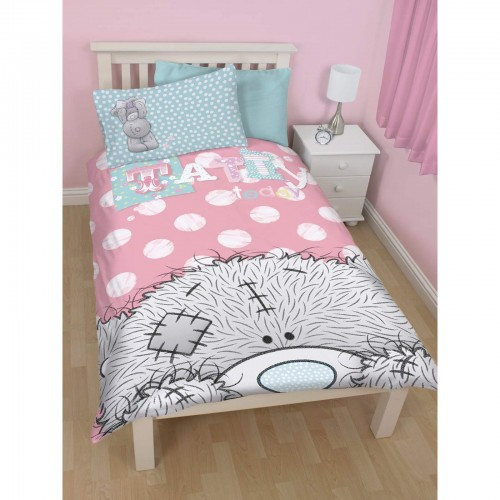 Me To You Tatty Teddy Girls Bonbon Reversible Twin Comforter Cover Bedding Set