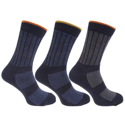 chaussettes de travail lot de 3 paires homme ebay. Black Bedroom Furniture Sets. Home Design Ideas