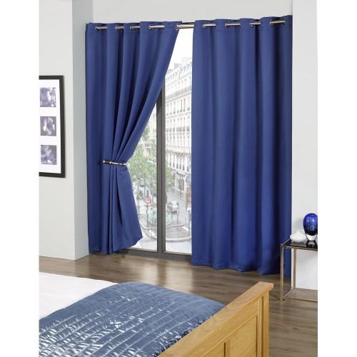 ensemble de rideaux occultants cali enti rement doubl s ebay. Black Bedroom Furniture Sets. Home Design Ideas