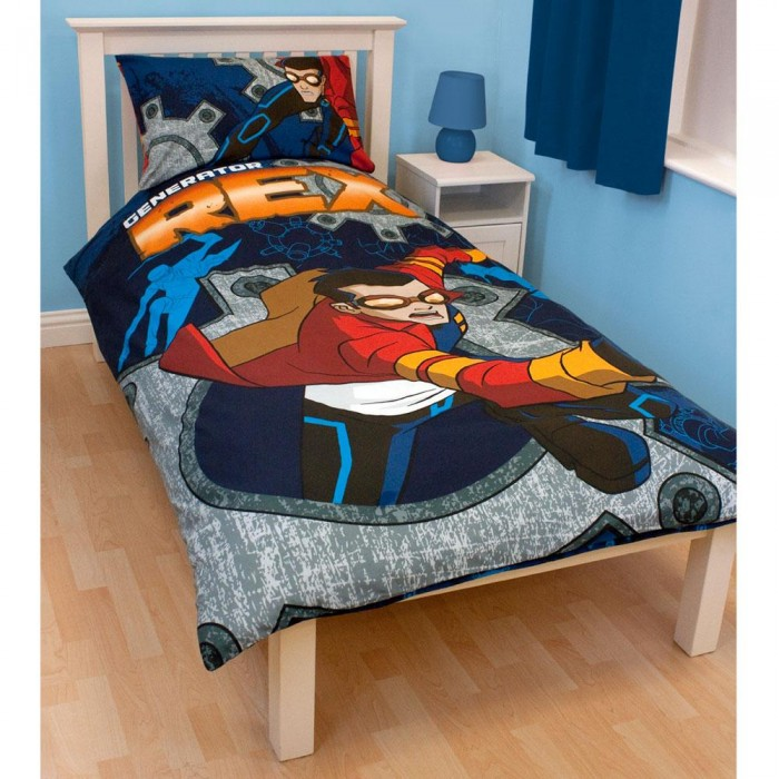 generator rex jungen bettw sche cogs ebay. Black Bedroom Furniture Sets. Home Design Ideas