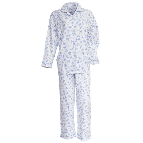 damen schlafanzug pyjama oberteil und hose lang rmlig. Black Bedroom Furniture Sets. Home Design Ideas