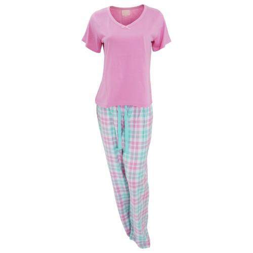 ensemble t shirt et bas de pyjama femme ebay. Black Bedroom Furniture Sets. Home Design Ideas
