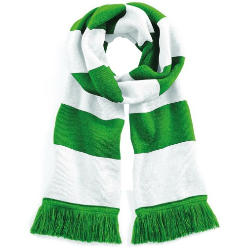 Beechfield Varsity Mens /Womens Winter Warm Scarf (Double Layer Knit) /Scarves