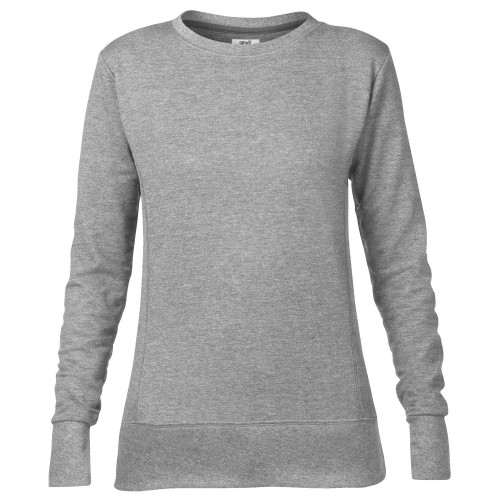 Anvil Womens Ladies Mid Scoop French Terry Semi Fitted Sweatshirt
