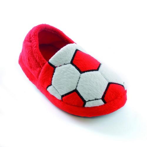 Kinder Jungen Fußball-Hausschuhe