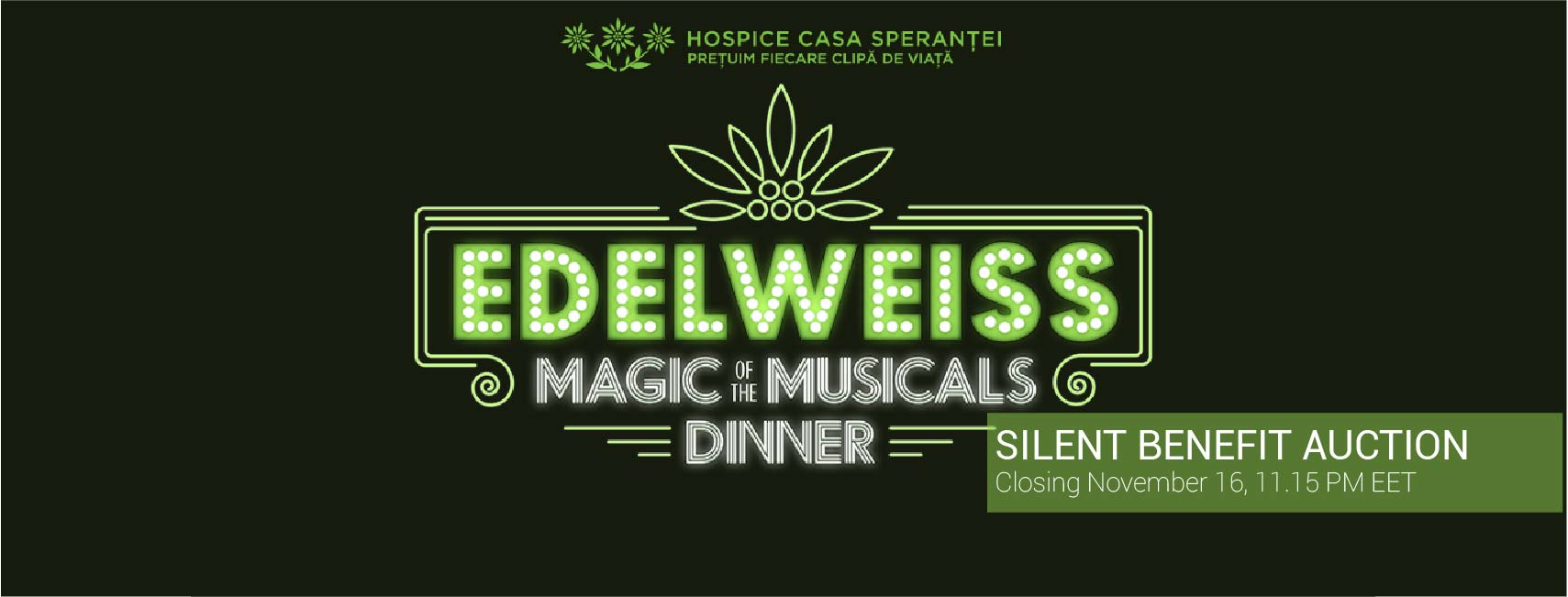 The Edelweiss Magic of the Musicals Dinner Benefit Auction