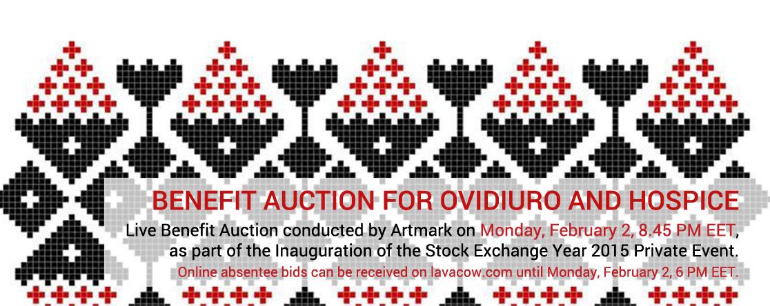 Benefit Auction for OvidiuRo and Hospice Casa Speranței, 2015