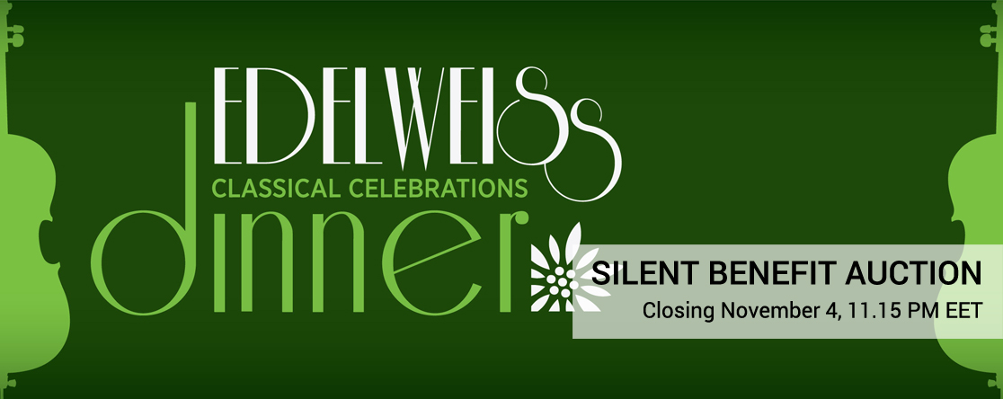 Edelweiss Classical Celebrations Dinner Benefit Auction