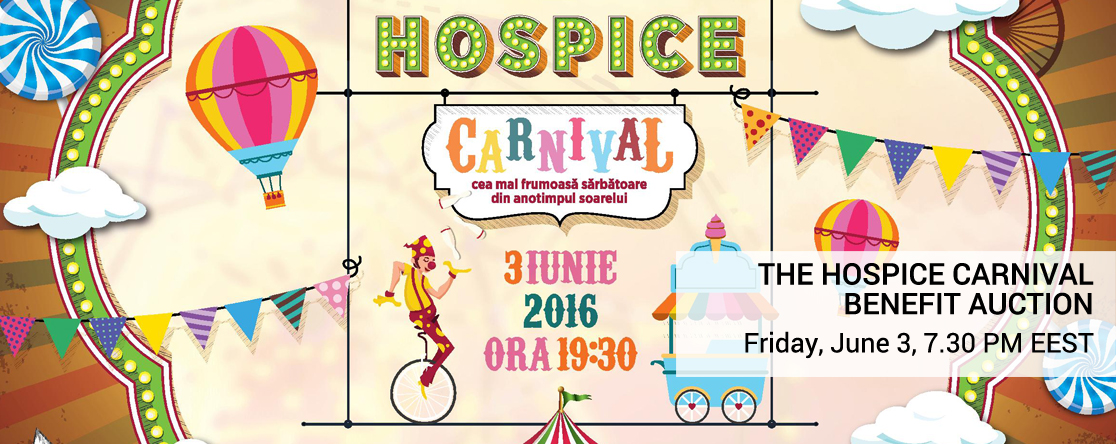 The Hospice Carnival Benefit Auction 2016