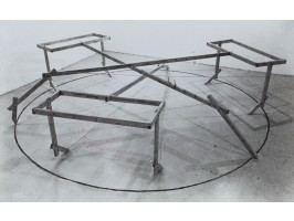 Three Hyphens within a Circle