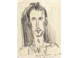 Portrait of Art Historian Petre Oprea (Portretul Istoricului de Artă Petre Oprea)