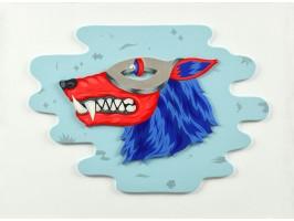 Wolf with Silver Mask (Lup cu Mască de Argint)