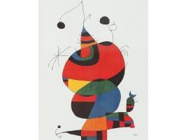 Femme, Oiseau, Étoile (Homenatge a Pablo Picasso)