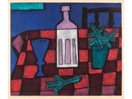 Still Life with Bottle (Natură Statică cu Sticlă)